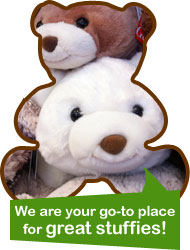 We are your go-to place for great stuffies!