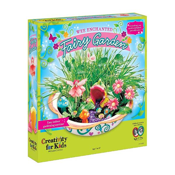 Creativity For Kids Wee Enchanted Fairy Garden Kit at Kaboodles Toy Store