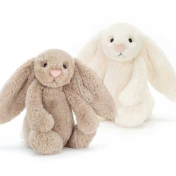 Jellycat Bunnies at Kaboodles Toy Store
