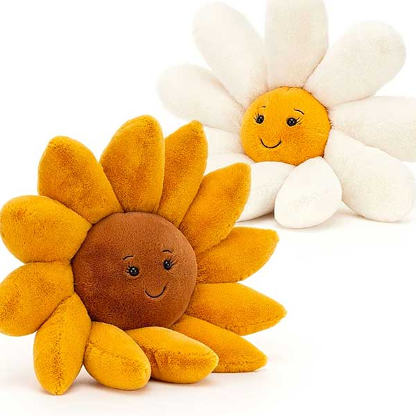 Jellycat Fleury Daisy and Sunflower at Kaboodles Toy Store