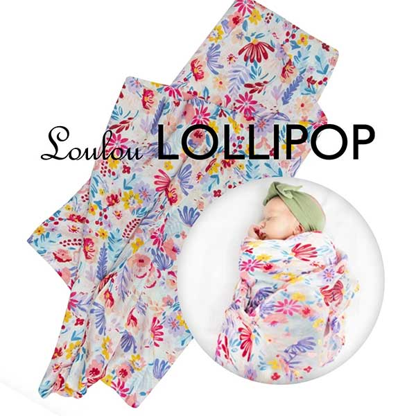 Loulou Lollipop Baby Swaddle at Kaboodles Toy Store