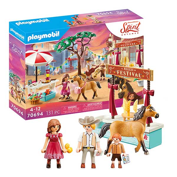 Playmobil Miradero Festival at Kaboodles Toy Store