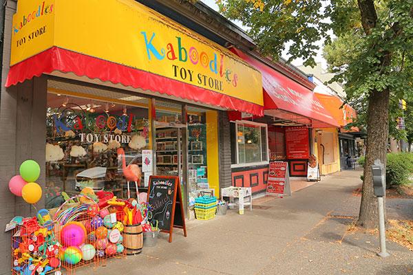 Kaboodles Toy Store Kitsilano