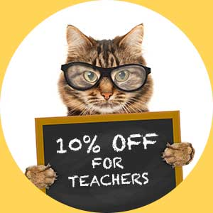 10% Teachers Discount